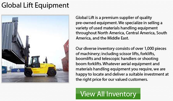 Caterpillar Narrow Aisle Forklifts